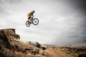 Jazda rowerem po górach