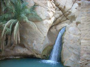 wodospad w Tunezji